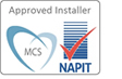 Microgeneration Certification Scheme Approved Installer and NAPIT Approved Electrical Installer