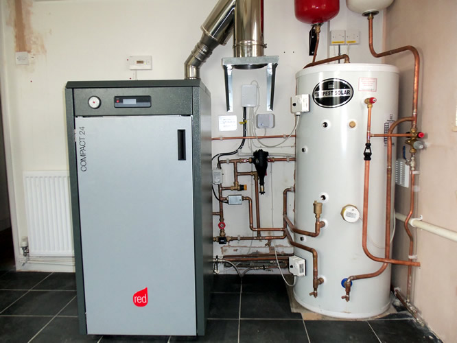 Wood pellet boilers bing images for Mcz red compact 24