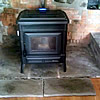 Extraflame Teodora 8kW Air Pellet Stove Installed in Somerset