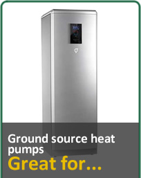 Ground Source Heat Pumps, Great for...