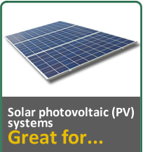 Solar Photovoltaic (PV) Systems, Great for...