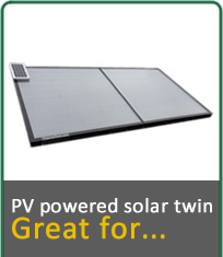 PV Powered Solar Twin, Great for...