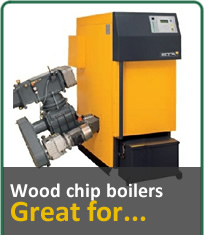 Wood Chip Boilers, Great for...