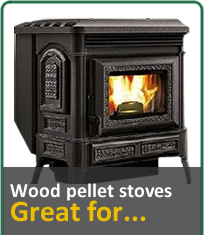 Wood Pellet Stoves, Great for...
